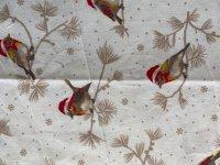 Bienenwachstuch Winter-Vogel
